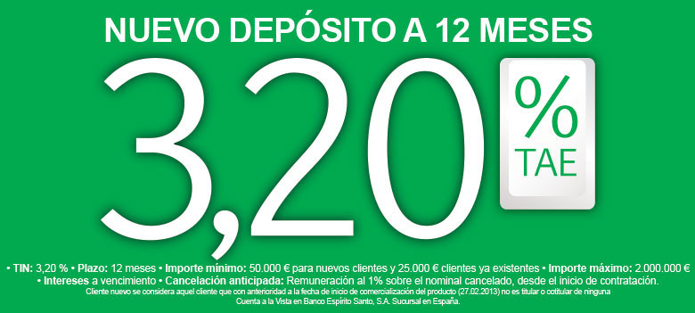 deposito bes 12 meses