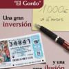"""Depósito Emoción """"El Gordo"""" de Caja Segovia"""