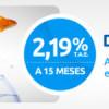 Depósito Libre de Novagalicia Banco: 2,19% TAE