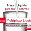 Depósito Multiplazo Liquidez CB de Caja de Burgos