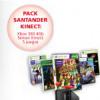 Depósito Kinect de Banco Santander